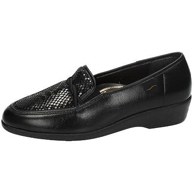 MADE IN SPAIN 67473 Mocasines Negros SEÑORA Zapatos MOCASÍN: Amazon.es: Zapatos y complementos
