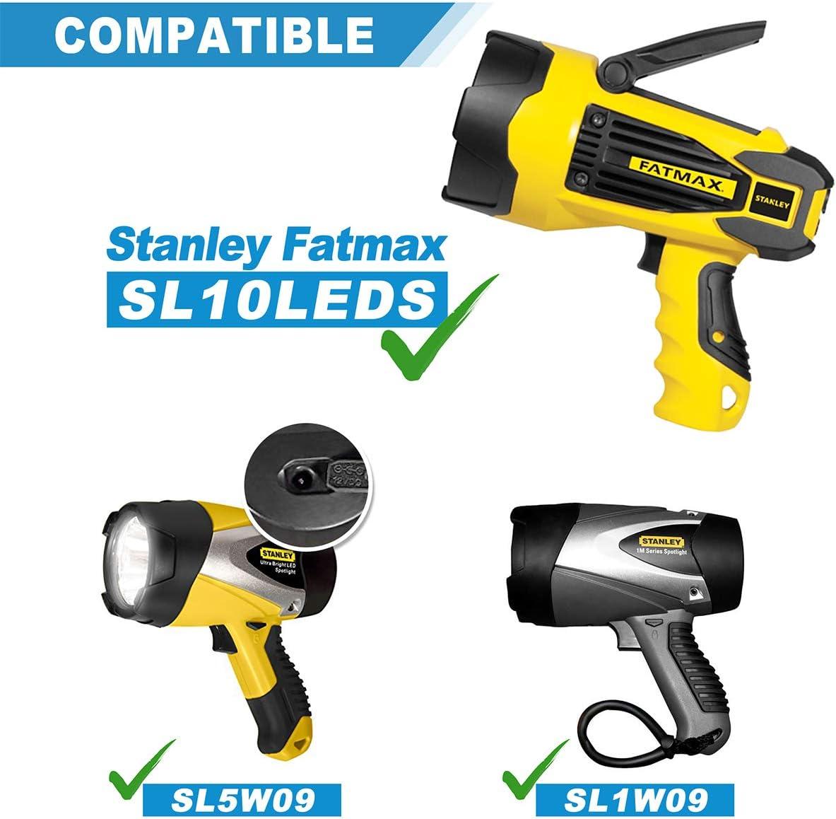 AC Power Adapter For 12V Stanley FatMax LED SL1M09 SL5W09 HID0109 FL5W10 FL3WBD