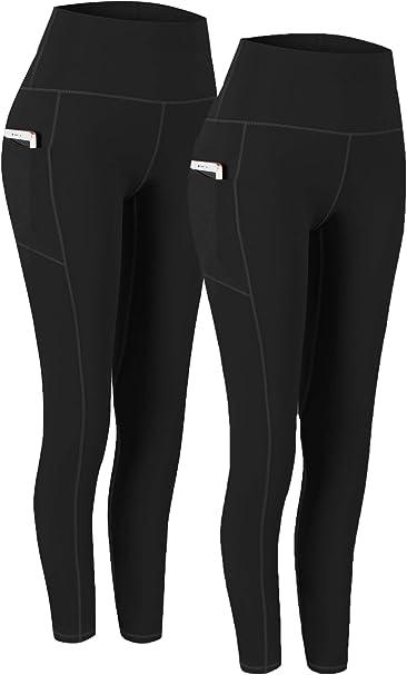 Amazon.com: Fengbay 2 unidades de pantalones de yoga de ...