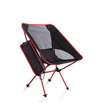 Silla de Camping portátil Silla Plegable Que acampa al Aire ...