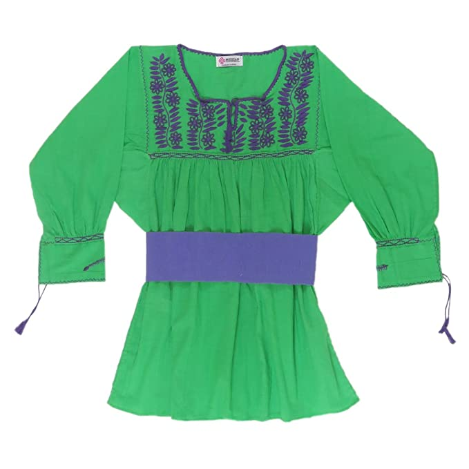 Amazon.com: Mexicano Clothing Co Womens mexicano blusa ...