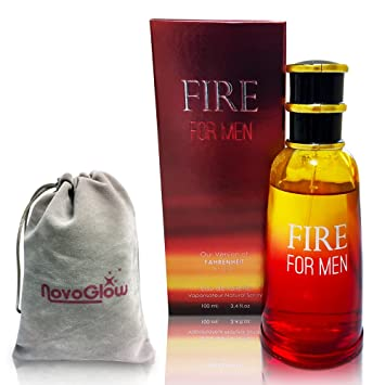 Fire For Men Perfume By Mirage Brands: 3.4 Oz 100ml Eau de Toilette Cologne WithHoneysuckle
