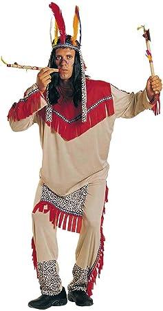 chiber Disfraces Disfraz de Indio Sioux Adulto - Talla Única (M/L ...