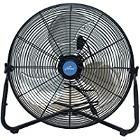 Iliving ILG8F20 Multi-Purpose High Velocity Floor Fan Wall Fan, 20, Black