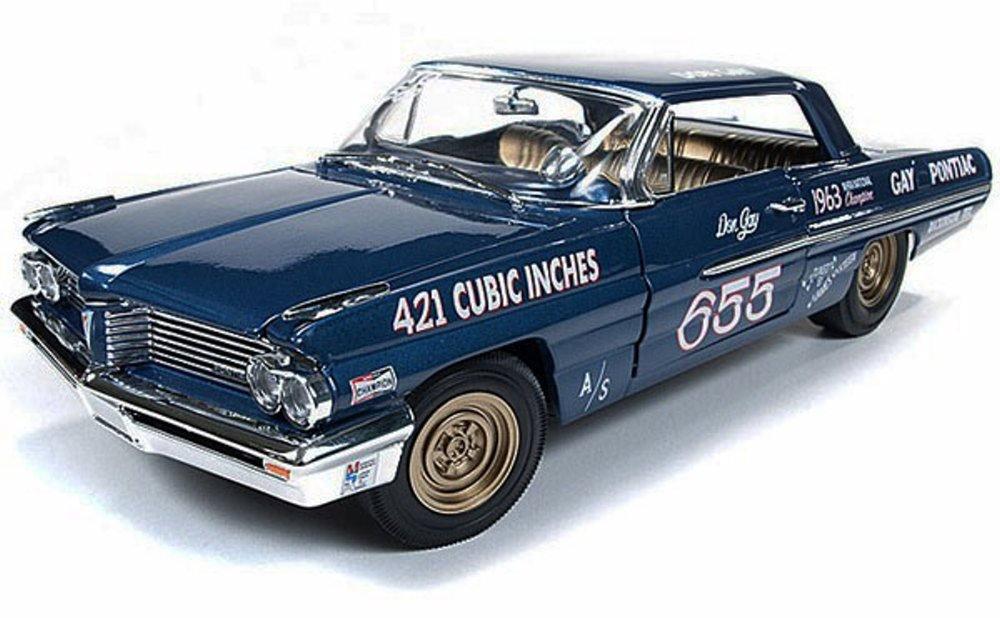 Don Auto World >> Amazon Com Auto World 1962 Don Gay S Pontiac Catalina 421sc