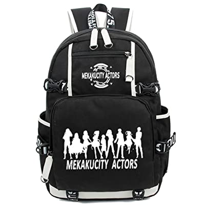 YOYOSHome Kagerou Project Anime MekakuCity Actors Cosplay Luminous Backpack School Bag
