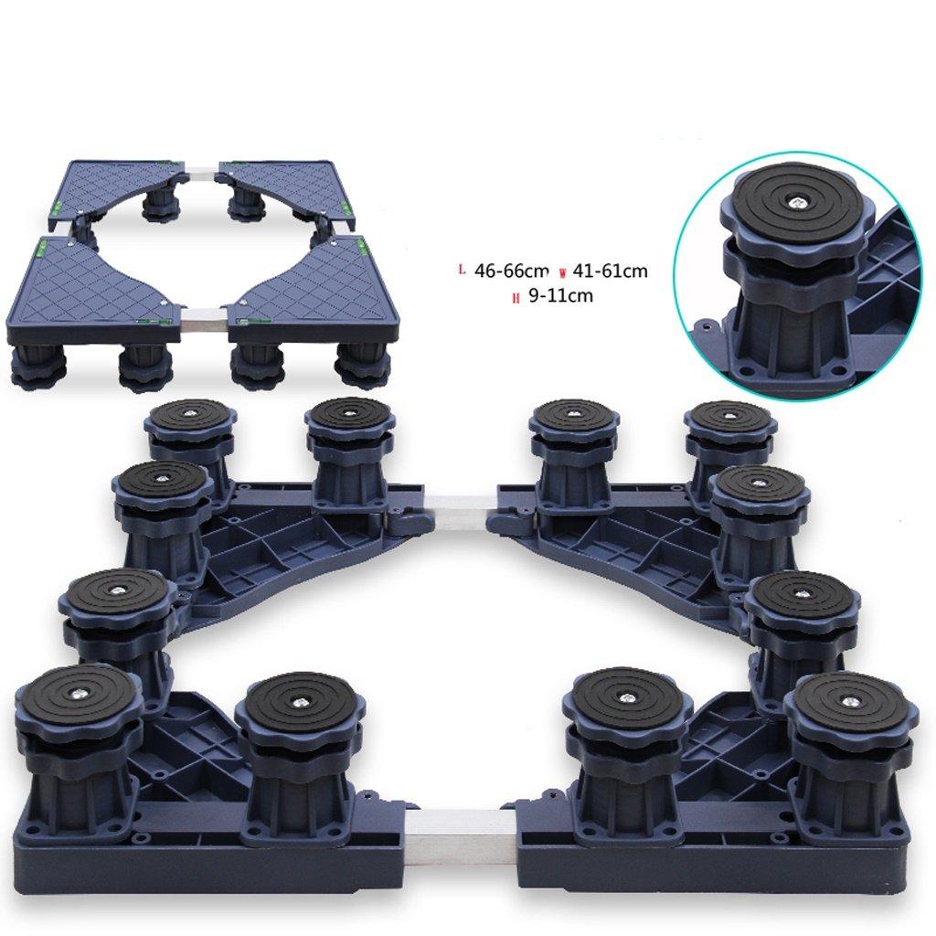 Washing Machine Base Stainless Steel Heightening Bracket -Casters (Size : C)