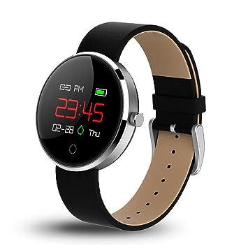 LL-Reloj inteligente reloj de pantalla táctil Bluetooth reloj de pulsera de fitness Recordatorio de