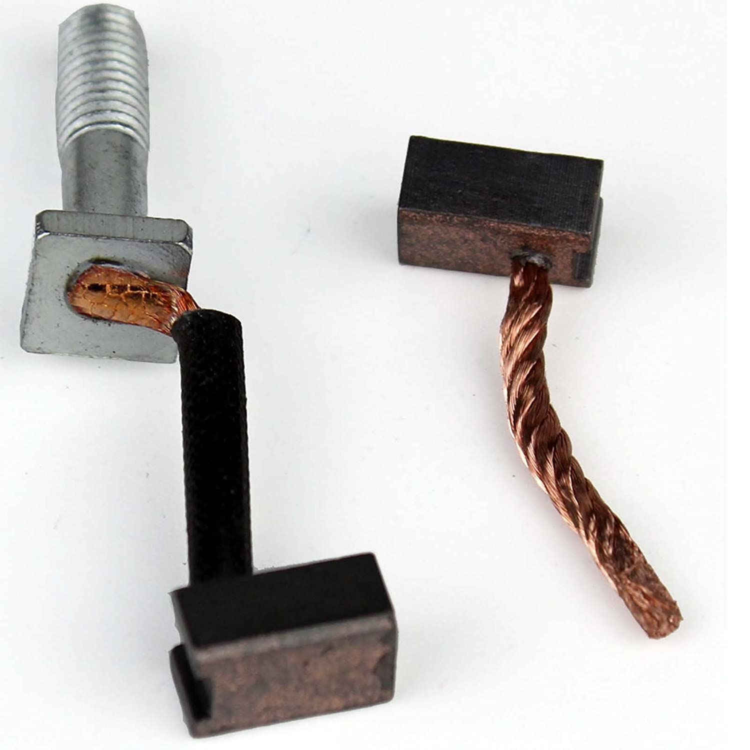 Starter Brushes (2) Nippon Denso Length:12mm Width:9mm Thickness:6mm RMSTATOR