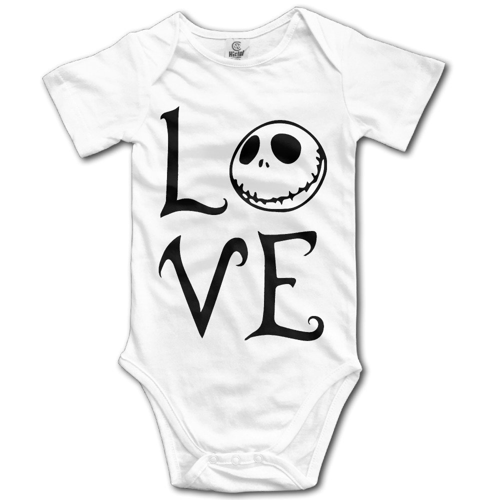 In This Space The Nightmare Before Christmas Cotton Infant Baby Onesie Bodysuit