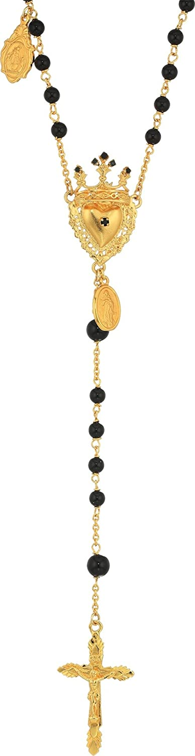 Dolce & Gabbana Mens Rosary Necklace
