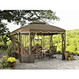 Sunjoy Replacement Canopy Set for Go Bay Window Gazebo