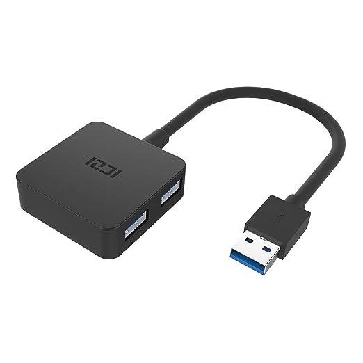 11 opinioni per ICZI Hub USB 3.0 4 Porte, Ultra Mini Hub