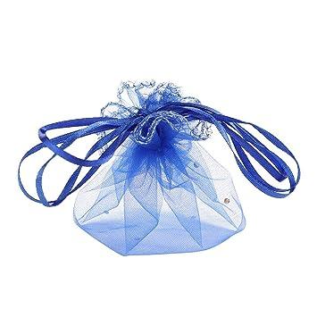 Amazon.com: Gdeal - 100 bolsas de organza redondas con ...