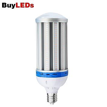 80W LED crecen la luz ligera del maíz LED espectro completo, 4800LM luz del maíz bombilla para las plantas hidropónicas, jardín, casa verde (80W): ...