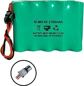 600-XTI-BAT Battery 6v 2100mAh Ni-MH XTi-5 Simon 6VDC UTC Interlogix Alarm Panel