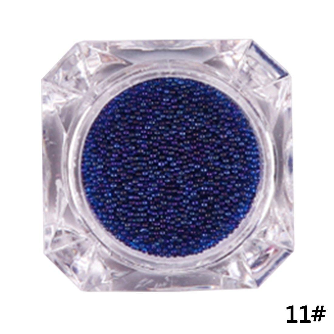 Consejos para uñas de vidrio de cristal Manicure Decoration 3D Pixie Nail Glitter Nail-1 ChenYao-Swansea