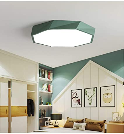 LED 18W Lámpara de Techo,Moderna LED Luz de Techo,Creativa ...