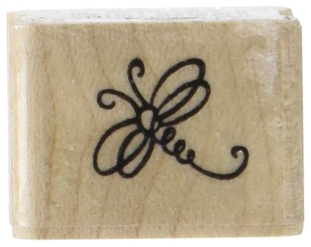 Stampendous Rubber Stamp-Petite Dragonfly