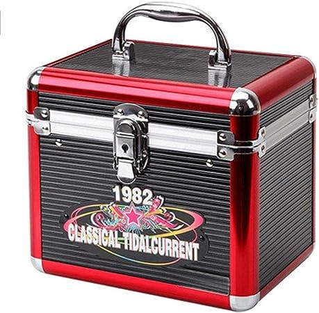 Caja de Almacenamiento CD DVD Duradera De Almacenamiento Del Disco De Vinilo Del Álbum De CD