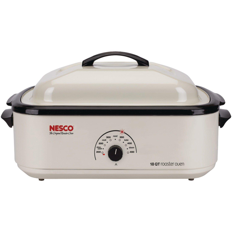 Nesco 4818-14-30 18-Quart Roaster Oven, Ivory