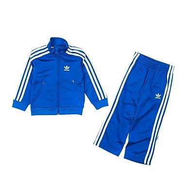 adidas Originals Firebird Combinaison Jogger d entraînement pour enfant  sport Combinaison Veste bleu - Bleu 54545d3e697