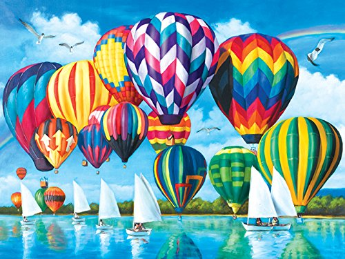 Hot Air Balloons 1000pc Collector Puzzle By: Sean Harrison