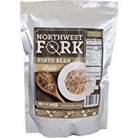 NorthWest Fork Pinto Bean Stew (Gluten-Free, Non-GMO, Kosher, Vegan) 15 Serving Bag - 10+ Year Shelf Life