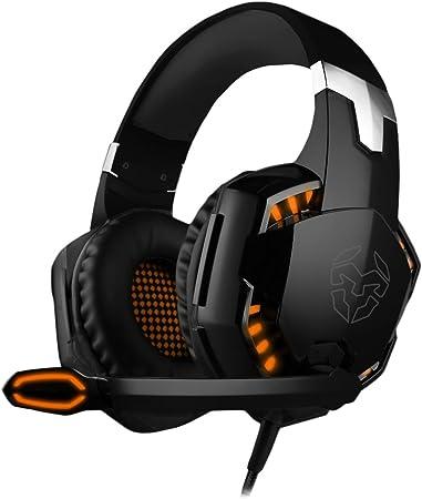 Krom KYUS - NXKROMKYS - Auriculares Micro Gaming, 7.1 USB Color Negro: Krom: Amazon.es: Electrónica