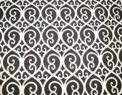 Grey Geometric Microfiber Upholstery Fabric Nuance - Geometric Upholstery