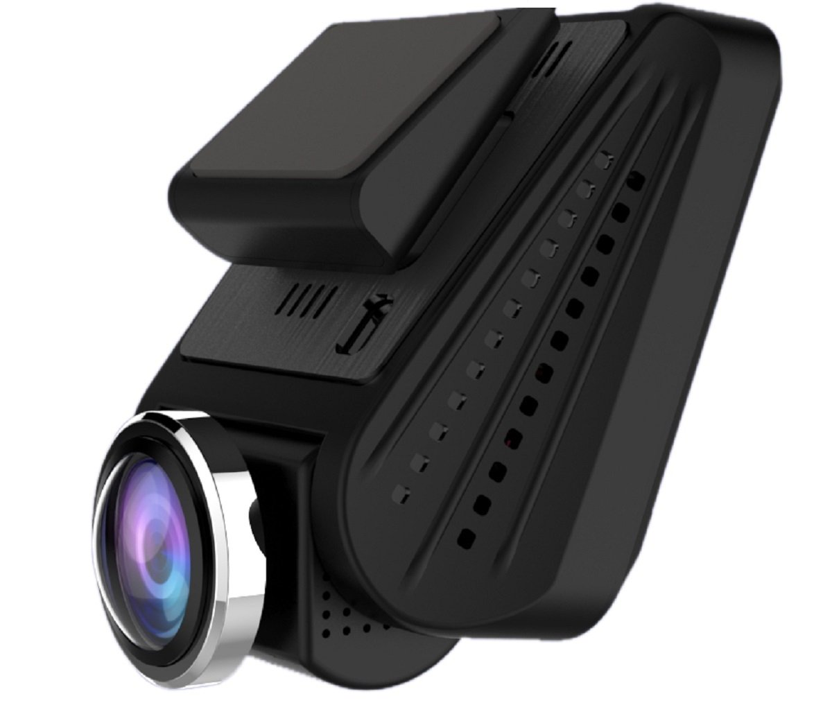 Powpro Pcam PP-A33 FHD 1080P WIFI 2.5 inch 360° Panoramic Car Dash Cam 220 Degree Wide Angle LED Infrated Night Vision Dashboard Camera Recorder with G-Sensor
