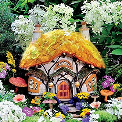 Ceaco 2248-7 Fairy Houses Dewdrop Inn - 300Piece: Toys & Games