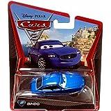 Disney Pixar Cars 2 Movie Series Mattel 1:55 Scale Die Cast Car #37 Bindo Blue Maserati