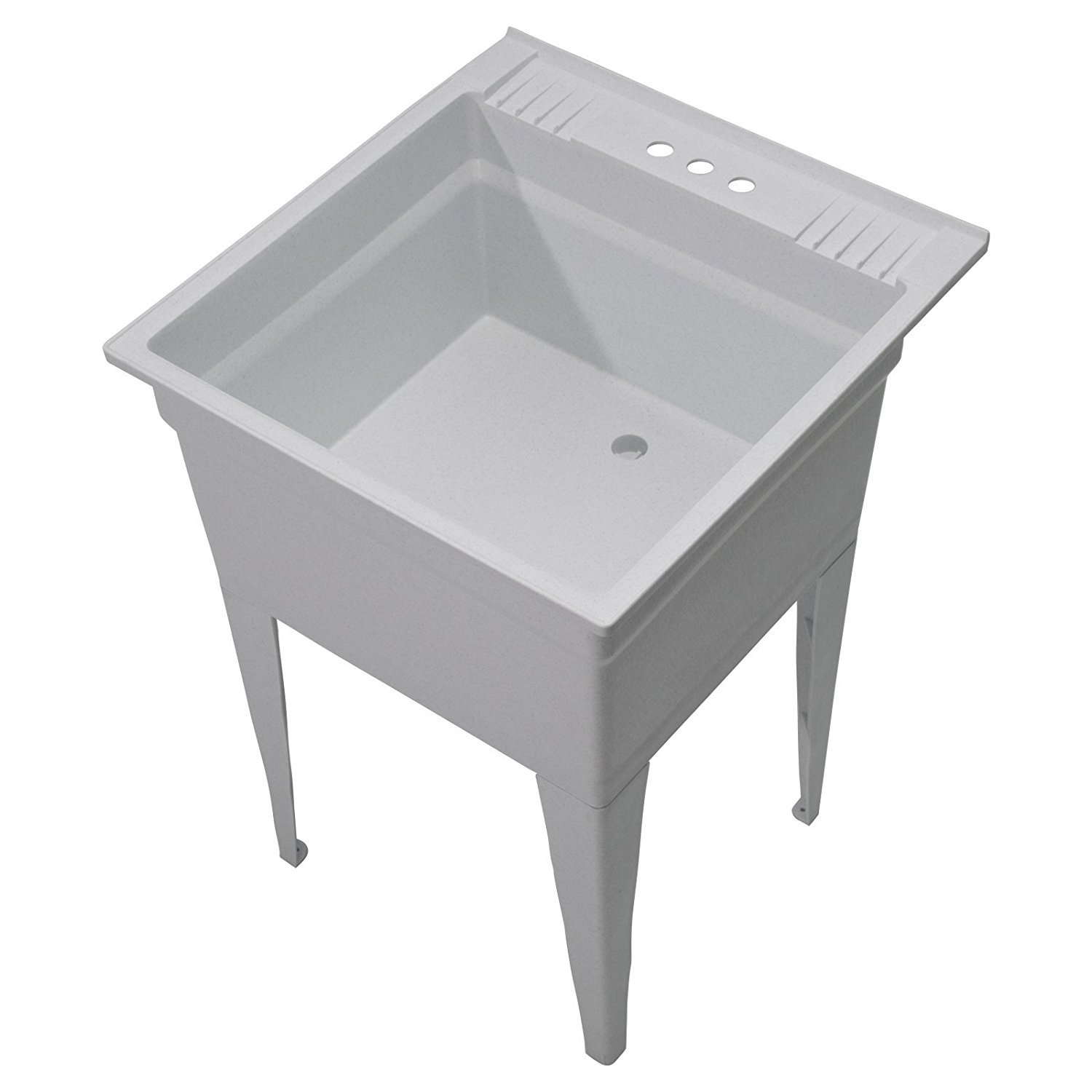 CASHEL Heavy Duty Free-Standing Utility Sink - Essential Sink Kit, 1960-20-02, Granite