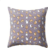 wintefei Cartoon Animal Print Pillow Case Sofa Cushion Cover?for Bedroom Living Room Decor