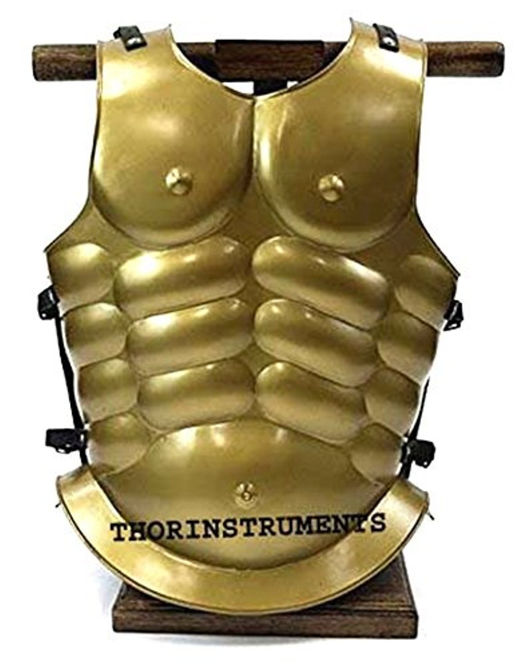 THORINSTRUMENTS Roman Muscle Armor Antique Brass Jacket Collectible Replica RENACTMENT Costume by THORINSTRUMENTS