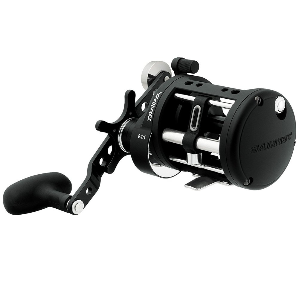 Daiwa Saltist H-C 6.1 1 Levelwind Right Hand Casting Fishing Reel – STTLW30H-C