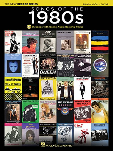 Song 1980 Lyrics (Songs of the 1980s: The New Decade Series with Online Play-Along Backing Tracks)