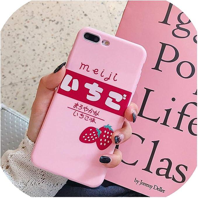 Coque en Silicone Souple de Style Japonais pour iPhone 6 S 6S 8 7 ...