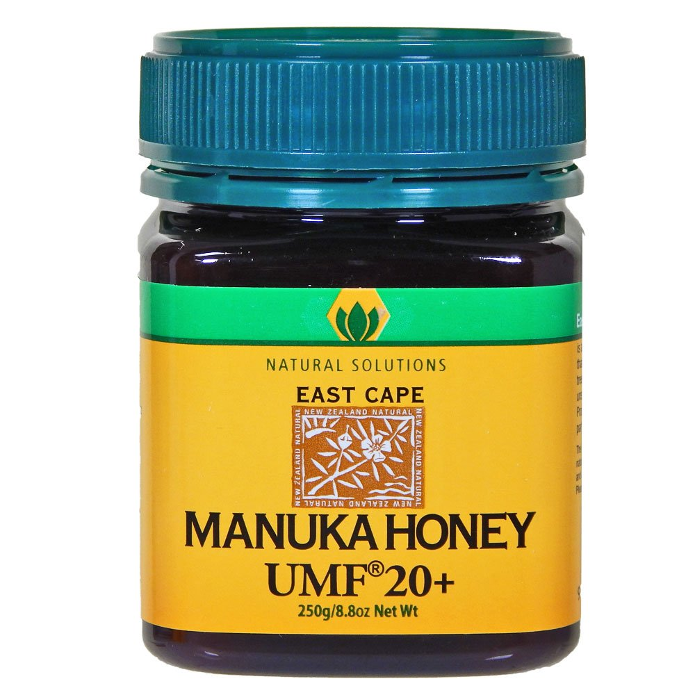 Manuka Honey Active UMF 20 MGO 888 Raw Unpasteurized Certified East Cape Te Araroa New Zealand