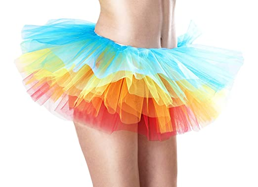 Targogo Falda Corta Mujer Falda Tul Ballet Skirt Princesas Tutú De ...