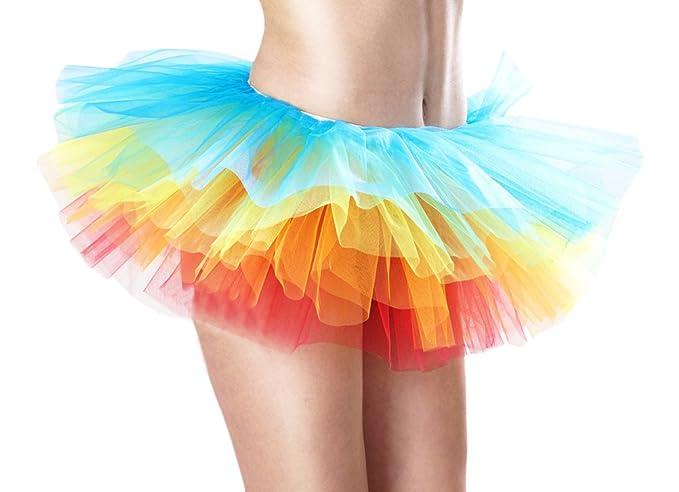 b8b2ec469 Targogo Falda Corta Mujer Falda Tul Ballet Skirt Princesas Tutú De ...