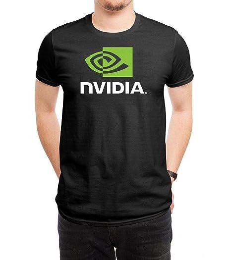 43e485f80894f FOURSIX Men's Nvidia Logo Short Sleeve T Shirts Tees | Amazon.com