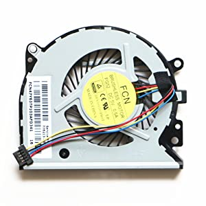 New Laptop CPU Cooler Fan for HP 776213-001 Envy 15-U 15-U011dx 15-U010dx X360 TPN-Q147 CPU Cooling Fan