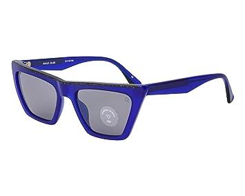 Etnia Barcelona Gafas de Sol WALO Blue/Light Blue Unisex ...