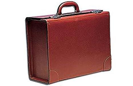 931f548e230 Maletín de médico en piel marrón modelo piloto  Amazon.es  Industria ...