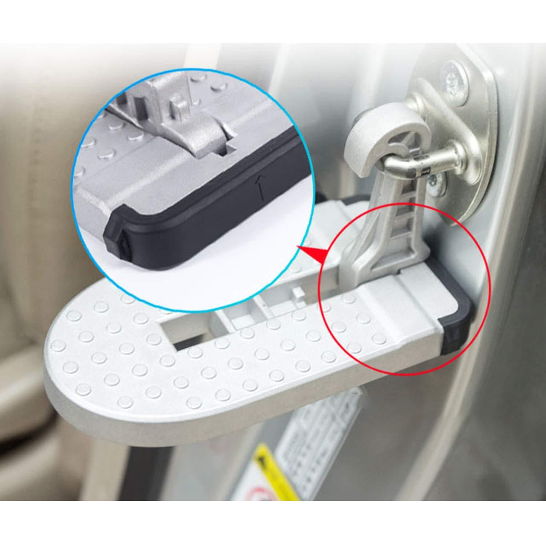 Haken Pedal Klapppedal Sicherheitshammer LFOTPP CX-3 CX-5 SUV Aluminiumlegierung Faltbar Auto T/ürpedal