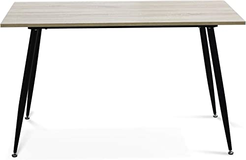 IDS Modern Dining Table,Wooden Look Dining Table