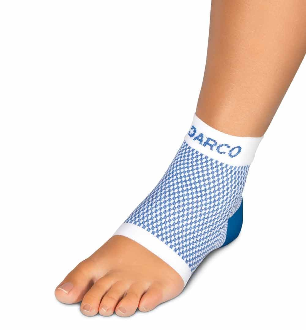 DSC Plantar Fasciitis Sleeve Zoned Compression Sock Size Medium - Men's 6-9.5 Woman's 7-10.5