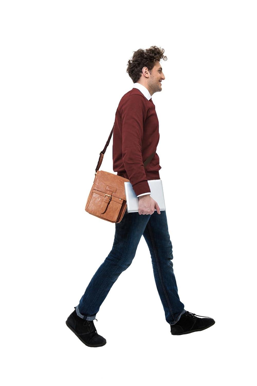 Vochic Vintage Pu Leather Travel Messenger Bag For Ipad Kangaroo 2 Colors Kingdom Mesenger M L Xl Crossbody Shoulder Bags